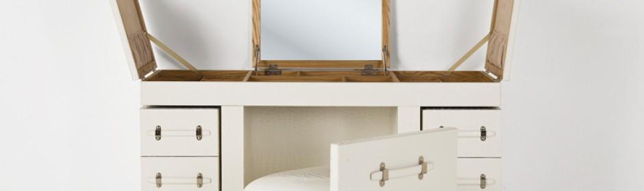Schminktisch diva white r i c o interior - Schminktisch metall ...