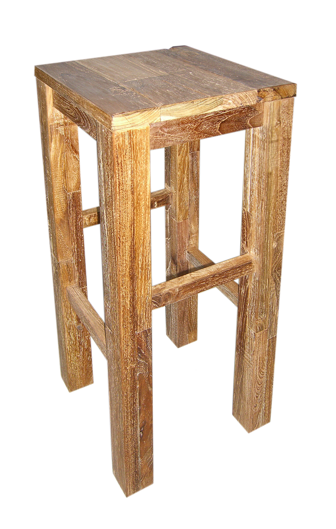 Holz barhocker affordable clp holz barhocker raphael for Barhocker holz