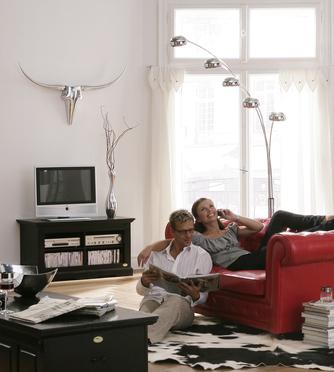 stehlampe five fingers r i c o interior. Black Bedroom Furniture Sets. Home Design Ideas