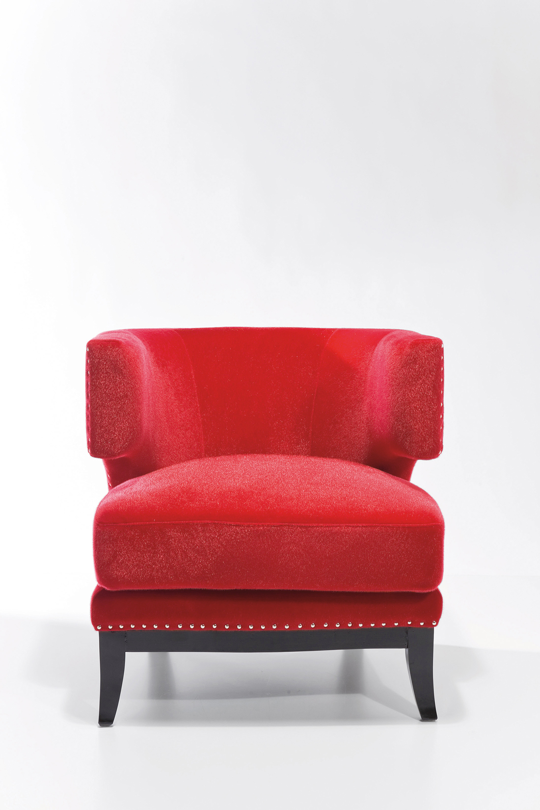 Sessel Art Deco red | R.I.C.O. Interior