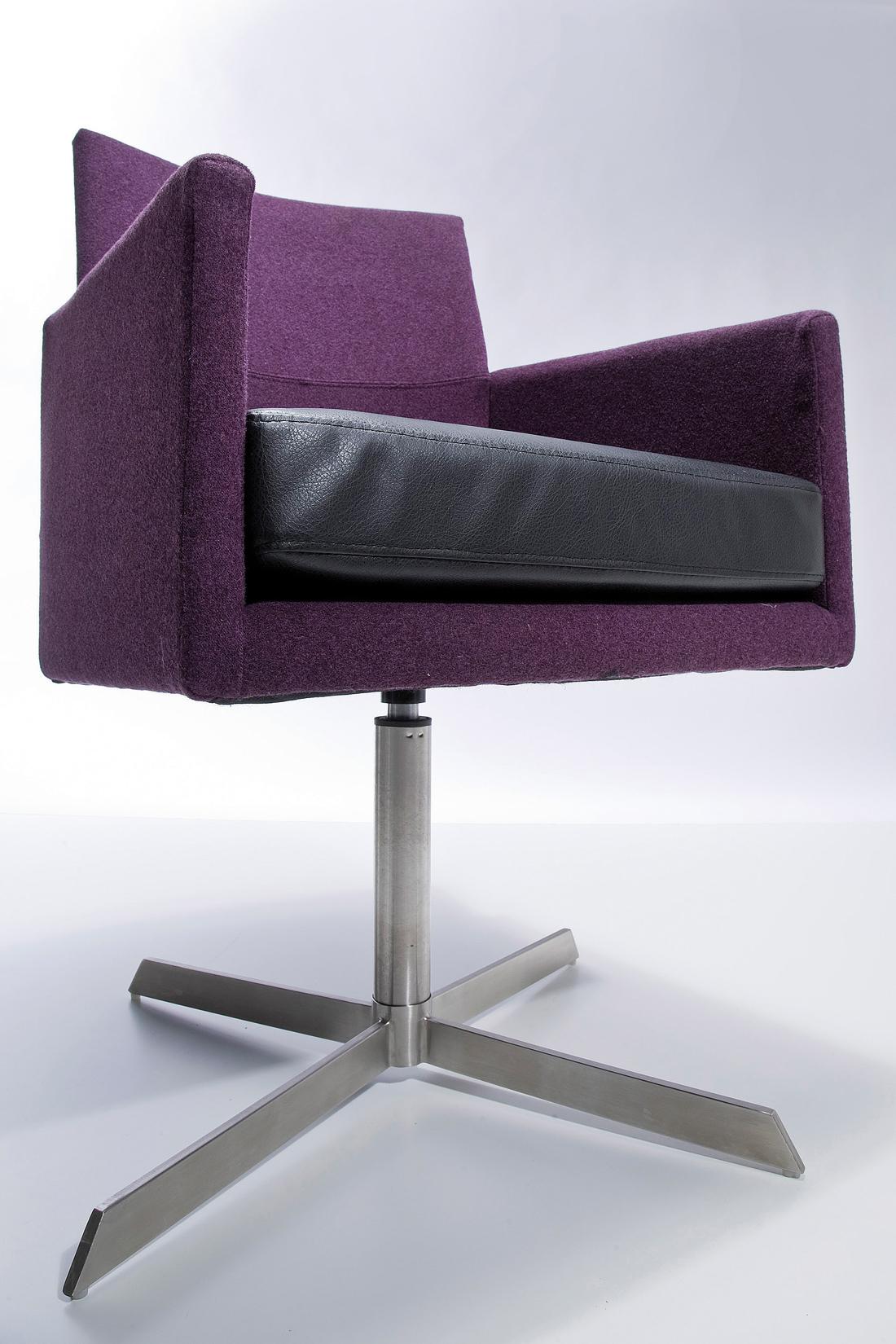 drehstuhl dialog purple | r.i.c.o. interior