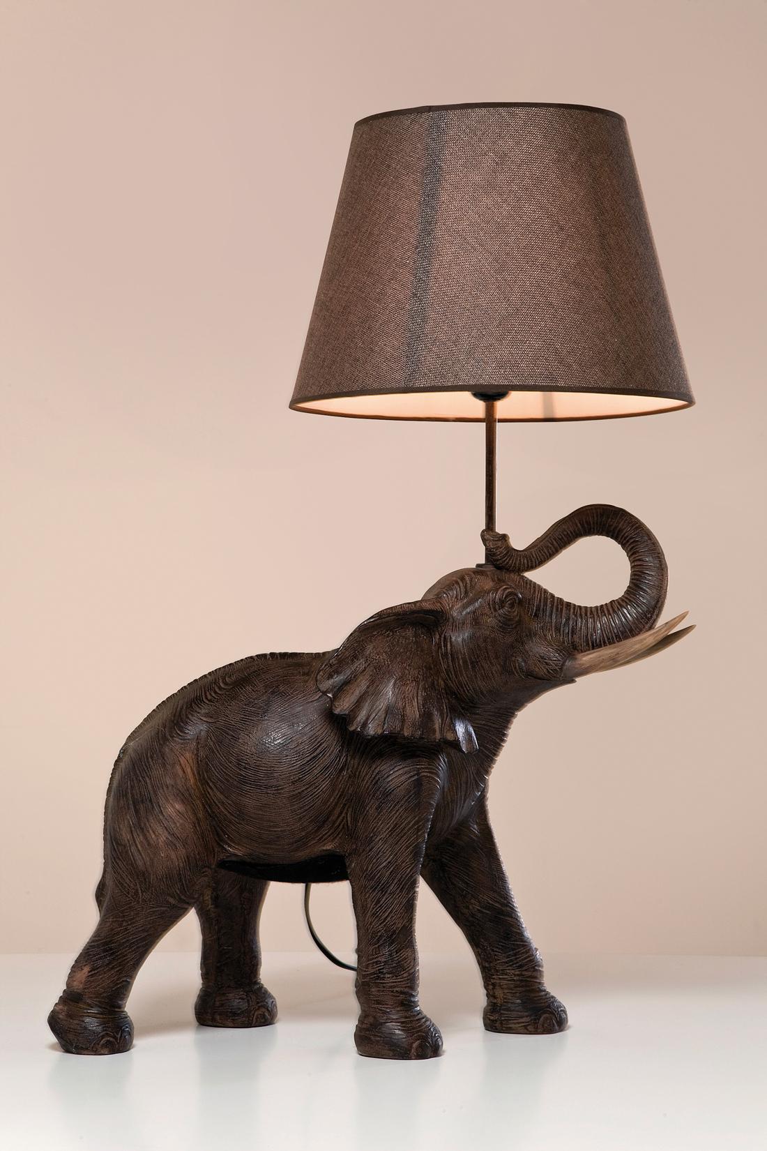 Tischlampe Elephant Safari R I C O Interior